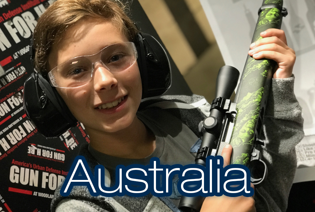 Australian Shooter 1 - The worlds only family friendly shooting range