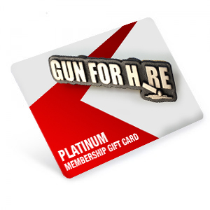 Platinum pin - 1 Yr. Platinum Membership as a Gift!