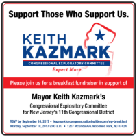 Keith Kazmark Breakfast FB - We are supporting Keith Kazmark