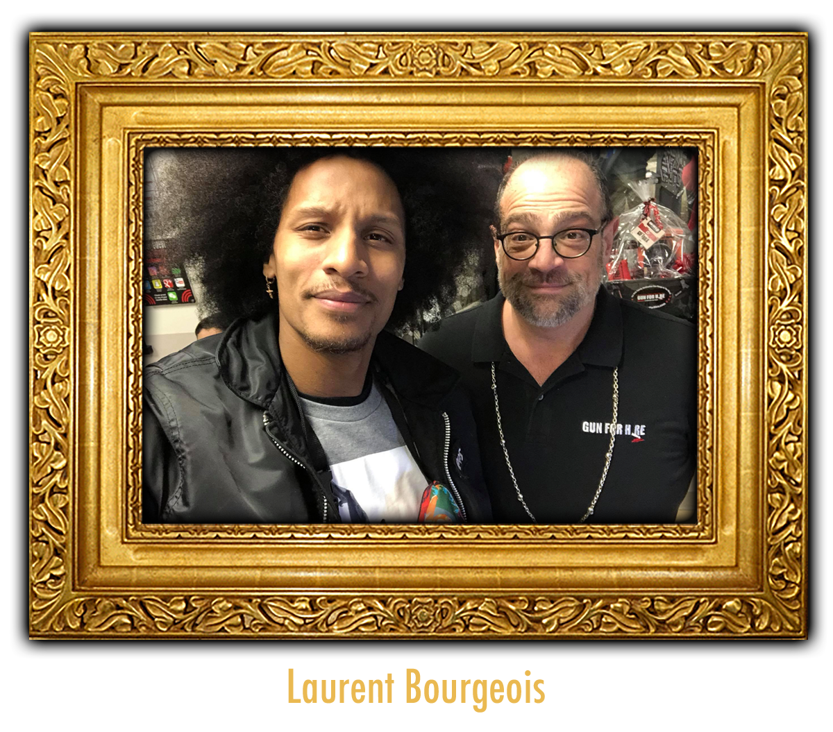 Laurent Bourgeois at Gun For Hire - VIP