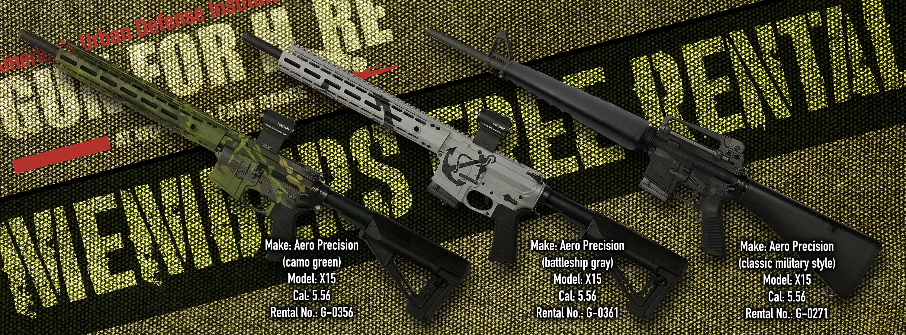 Gun For Hire Gun Rentals for July - Silver Ports