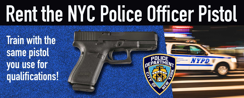 NYC Police Gun - NYC Shooting Range